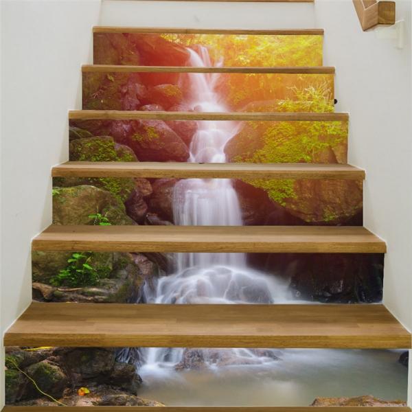 Autocolant scari - Cascada - 6 folii de 18x100 cm 2