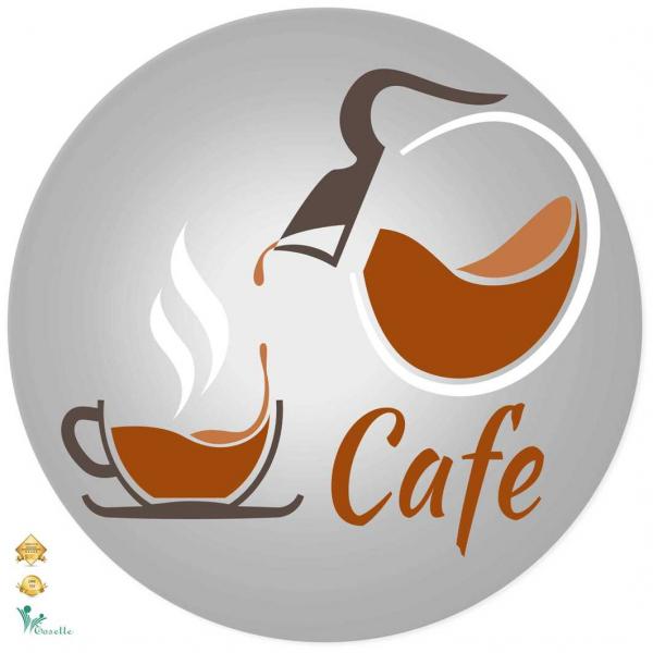 Autocolante decorative - Cafea - 60x60 cm 0