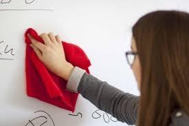 Folie autocolanta de tip whiteboard - ideal pentru proiectii - culoare alba - 137x100 cm 5
