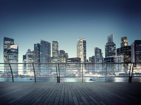 Fototapet Singapore [0]