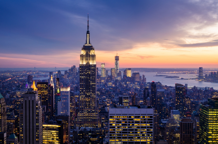Fototapet New York City Skyscrapers [0]
