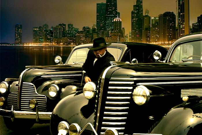 Fototapet Gangster in Chicago 0