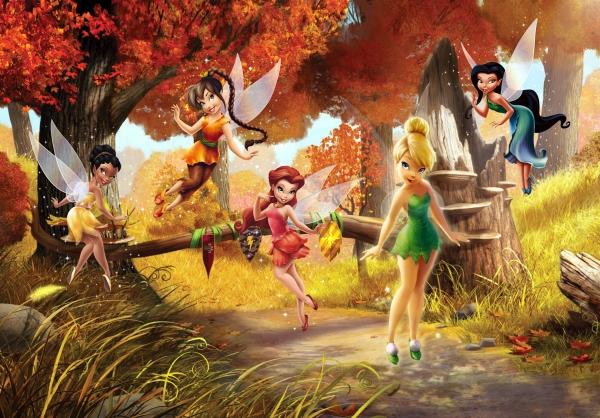 Fototapet Disney - Zane in Padurea Tomnatica 0