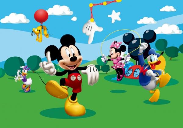 Fototapet Mickey Mouse si Prietenii 0