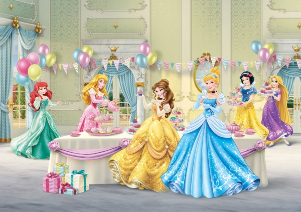 Fototapet Printese Disney la Bal 0