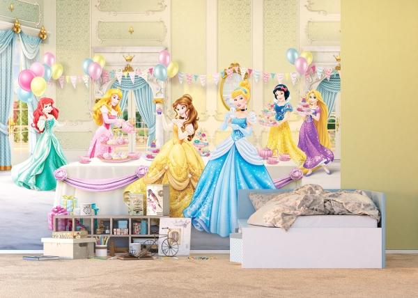 Fototapet Printese Disney la Bal 2