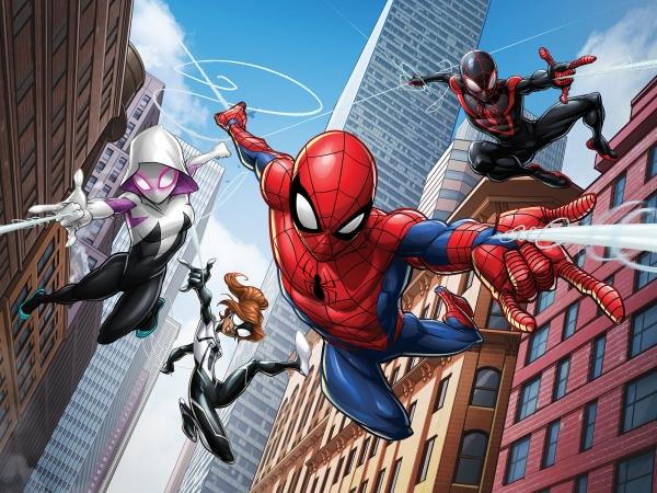 Fototapet Spiderman si Eroii 0