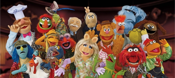 Fototapet The Muppets 0