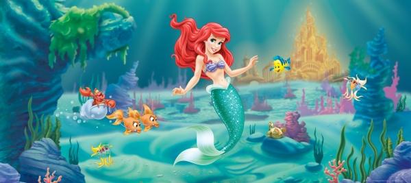 Fototapet Disney - Micuta Sirena 0
