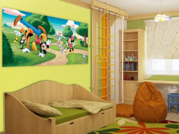 Fototapet Disney - Clubul lui Mickey Mouse in Parc 1