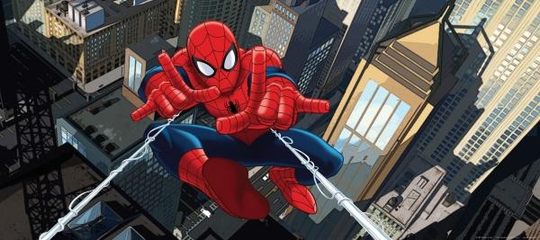Fototapet Spiderman si Panza de Paianjen 0