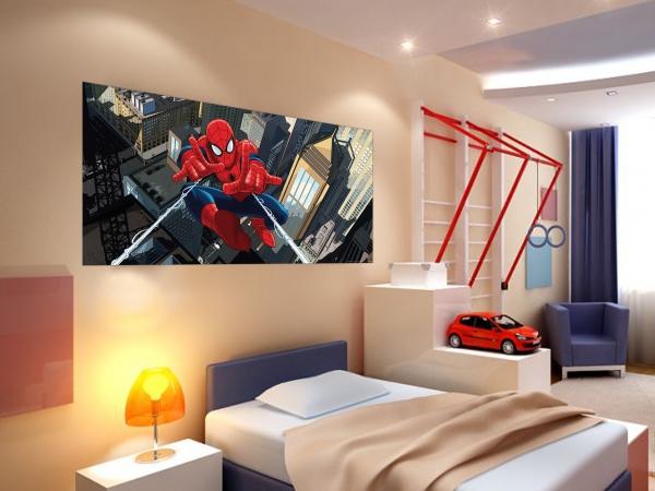 Fototapet Spiderman si Panza de Paianjen 1