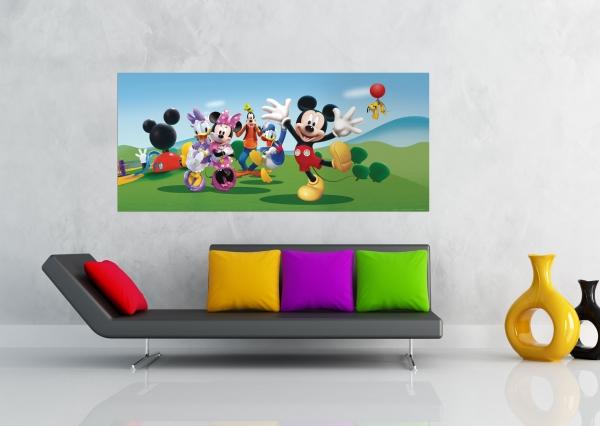 Fototapet Disney - Salutari de la Mickey [1]