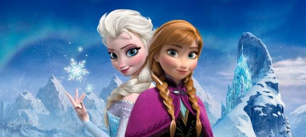 Fototapet Elsa si Anna 0
