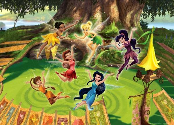 Fototapet Disney - Lumea Zanelor [0]
