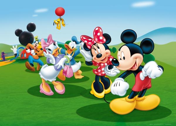 Fototapet Disney - Clubul lui Mickey Mouse 0