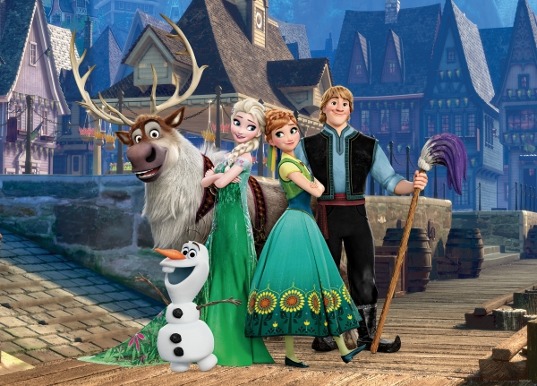 Fototapet Personaje Frozen 0