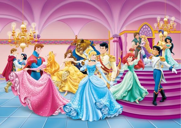 Fototapet Printese si Printi Disney 0