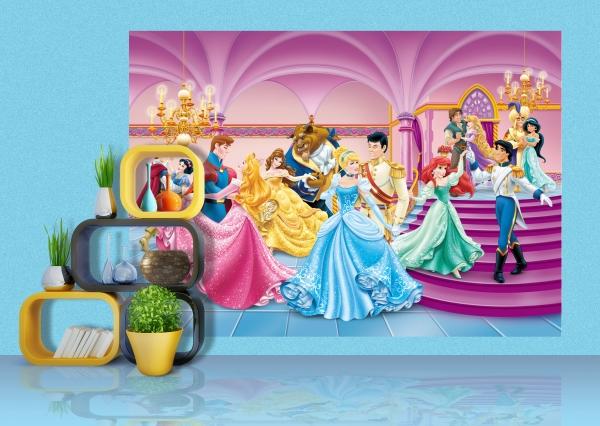 Fototapet Printese si Printi Disney 1
