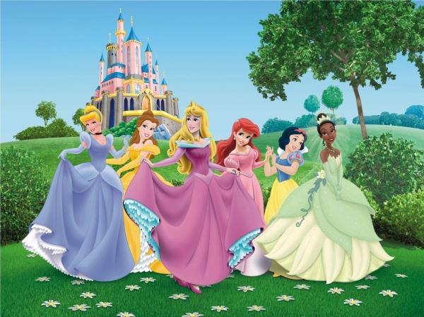 Fototapet Printese Disney [0]