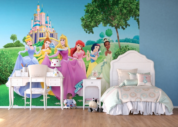 Fototapet Printese Disney [1]