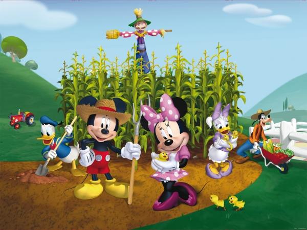 Fototapet Disney - Clubul lui Mickey Mouse la Ferma 0