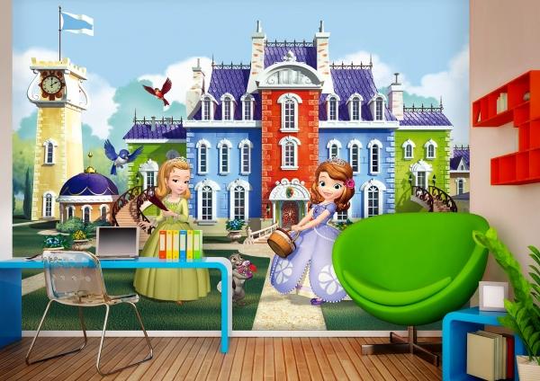 Fototapet Disney - Printesa Sofia si Printesa Amber [1]