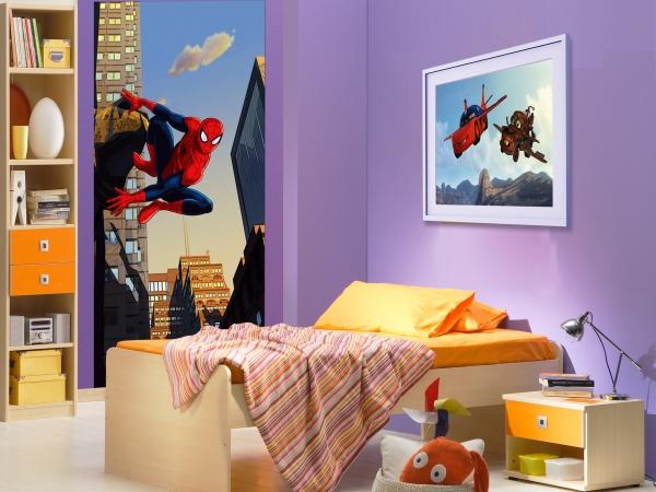 Fototapet Spiderman in Actiune 1