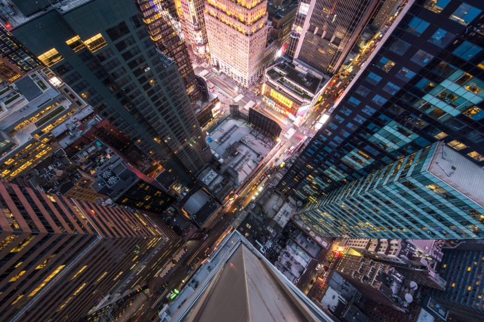 Fototapet Manhattan's 5th Avenue [0]