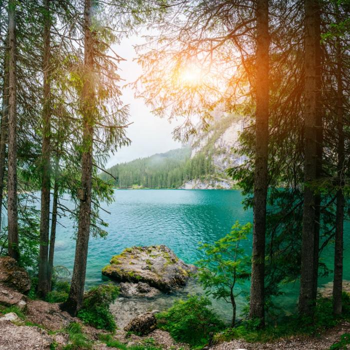 Fototapet Lac Turcoaz [0]