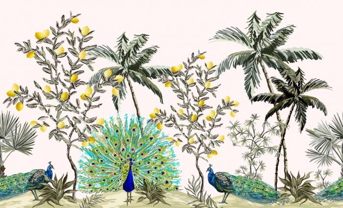 Fototapet Lemon Garden [0]