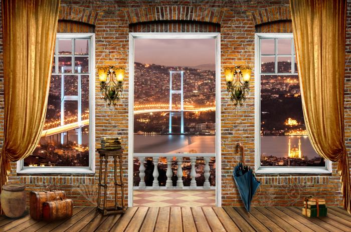 Fototapet Vedere in Istanbul 0