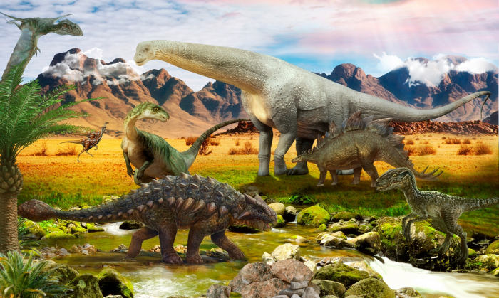 Fototapet Dinozauri [0]