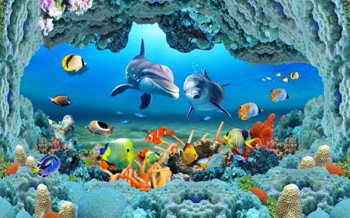 Fototapet Seaworld [0]