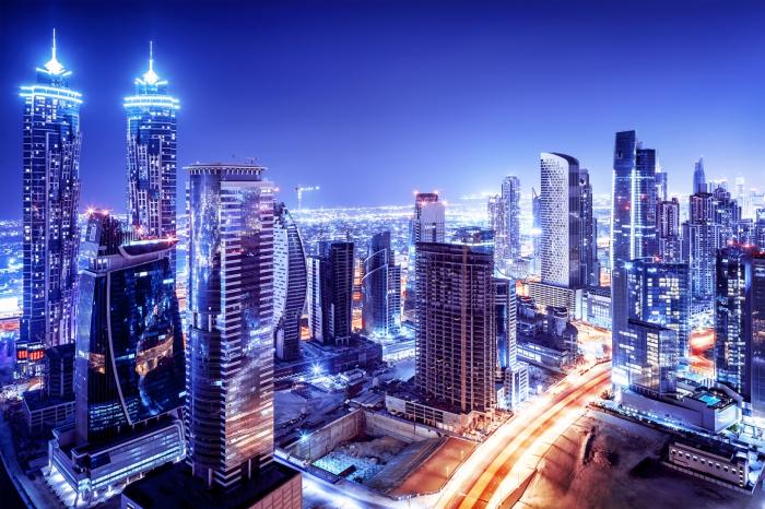 Fototapet Dubai Downtown [0]