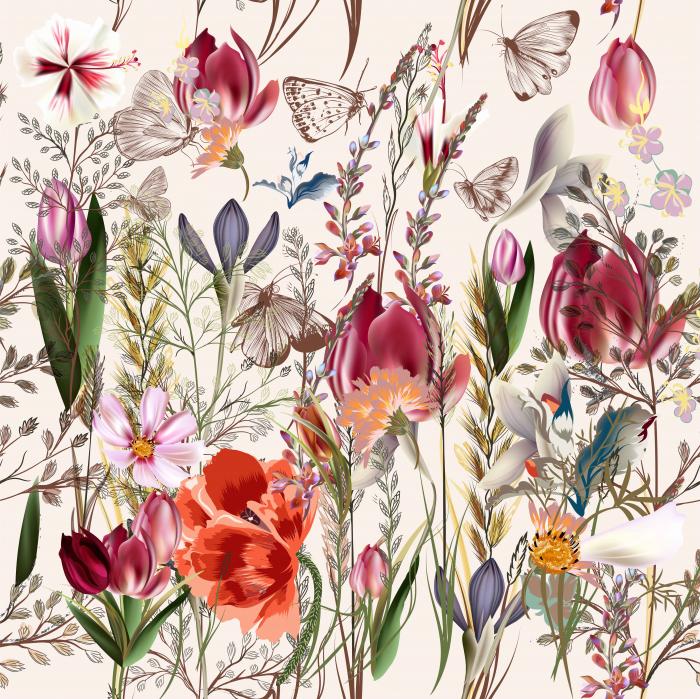 Fototapet Spring Flowers [0]