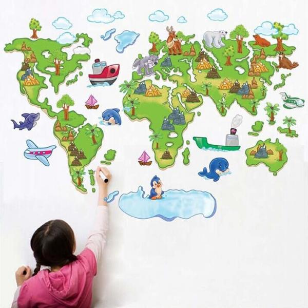 Harta animata a lumii pentru copii 4