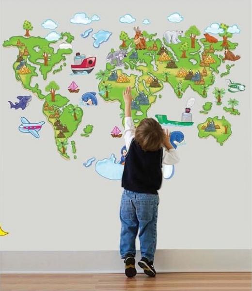 Harta animata a lumii pentru copii 5
