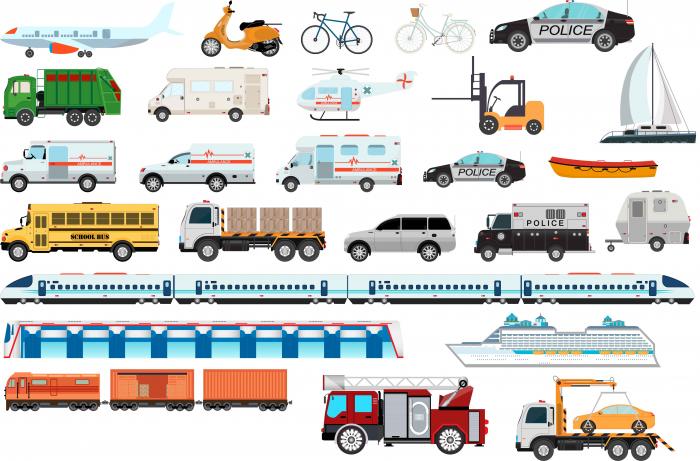 Stickere Mijloace de Transport - 60x90 cm [0]
