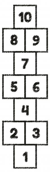 Sticker 3D pentru Podea - Sotron Negru - Fundal Alb sau Transparent 0