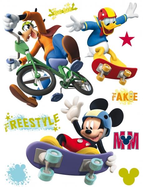 Sticker Mickey Freestyle - 65x85cm - DK855 0