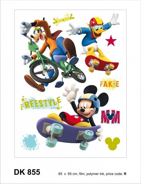 Sticker Mickey Freestyle - 65x85cm - DK855 1