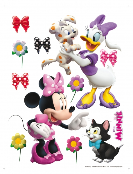 Sticker Minnie si Daisy - 65x85cm - DK1768 0