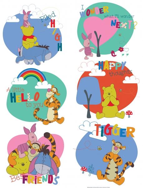 Sticker Winnie Pooh - 65x85cm - DK1770 0