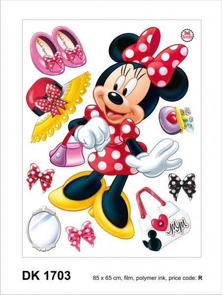 Sticker Minnie Mouse -  65x85cm  - DK1703 1