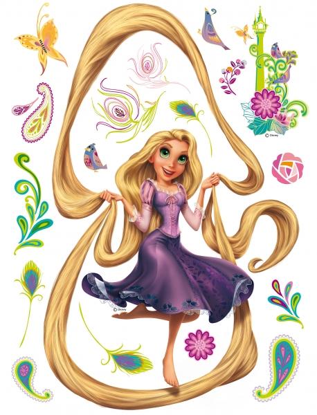 Sticker Rapunzel si Turnul - 65x85cm - DK863 0