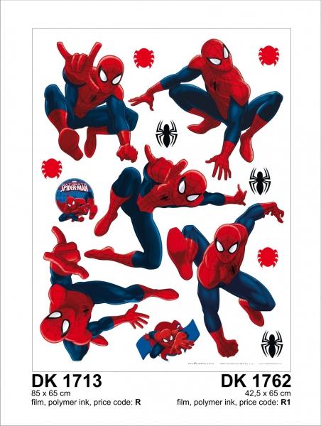 Sticker Spiderman - 65x85cm - DK1713 1