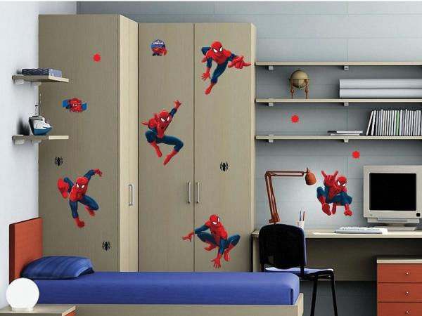 Sticker Spiderman - 65x85cm - DK1713 2