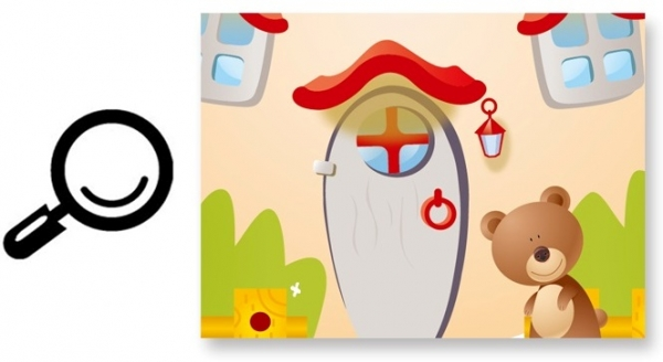 Sticker camere copii - Ciuperca uriasa 6