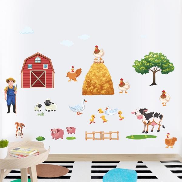 Sticker pentru copii - Animale la ferma 1